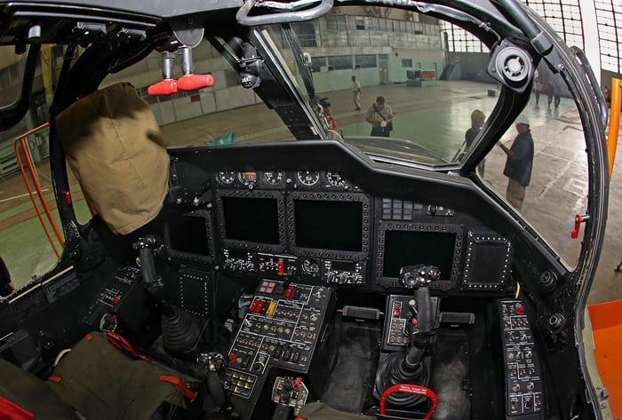 Кабина Вертолета ка 52
