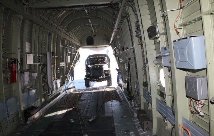 Ми- 26 грузовой отсек