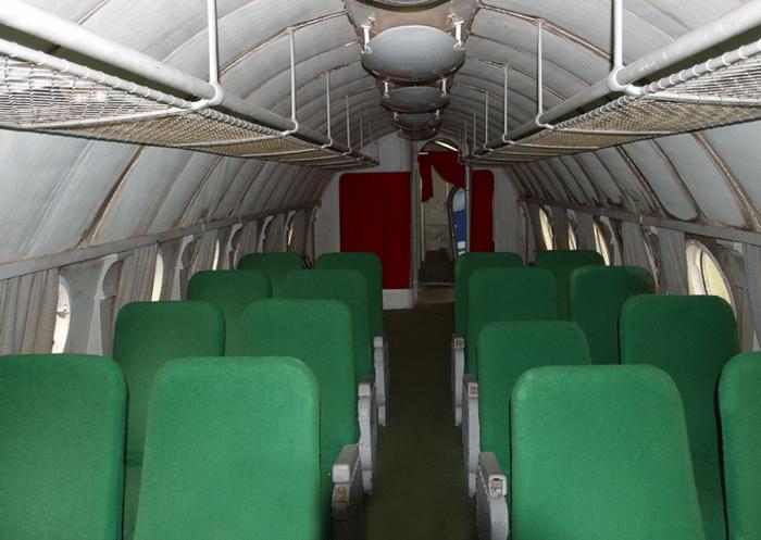 Ту-134 салон