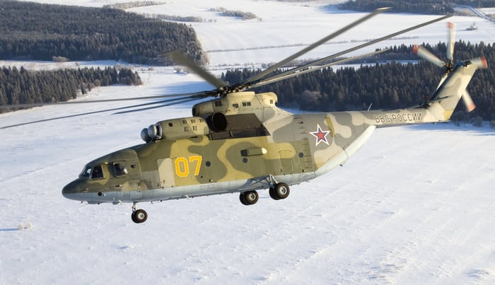 МИ-26 зимой