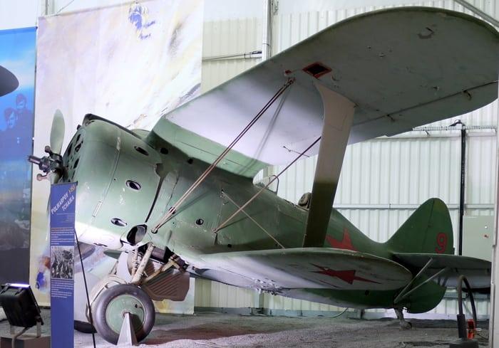 И-153 в. музее Ле Бурже.