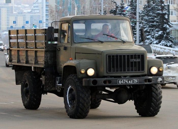 ГАЗ 3308 бортовой