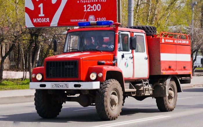 ГАЗ 3308 Пожарный