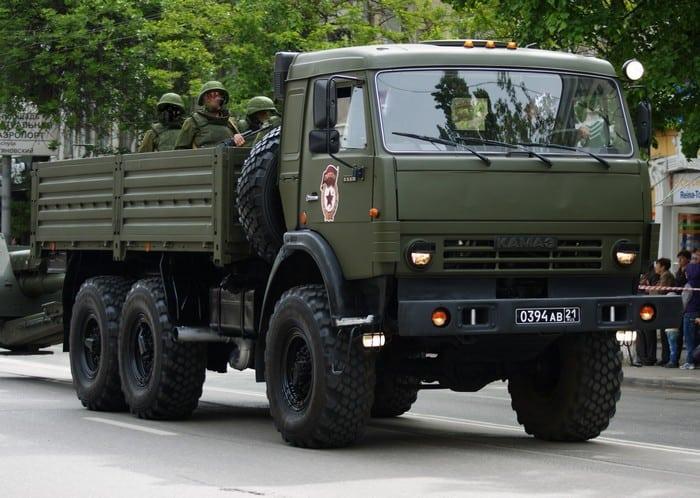 КАМАЗ 5350 Россия