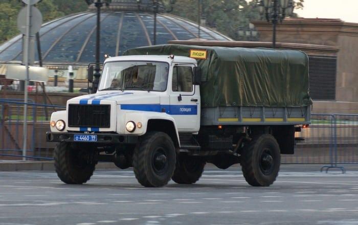 ГАЗ 3308 Садко в Милиции