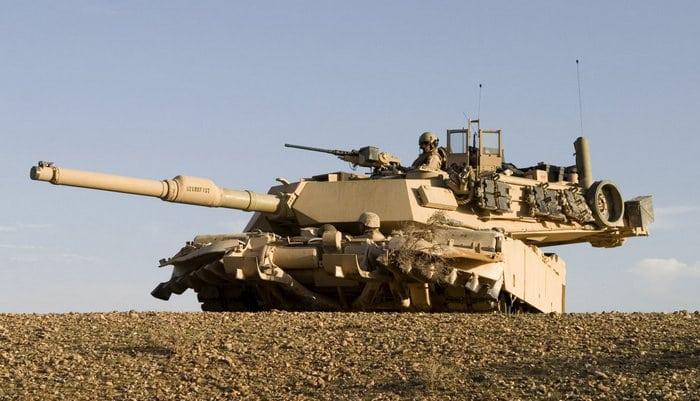 Абрамс м1 вооружение