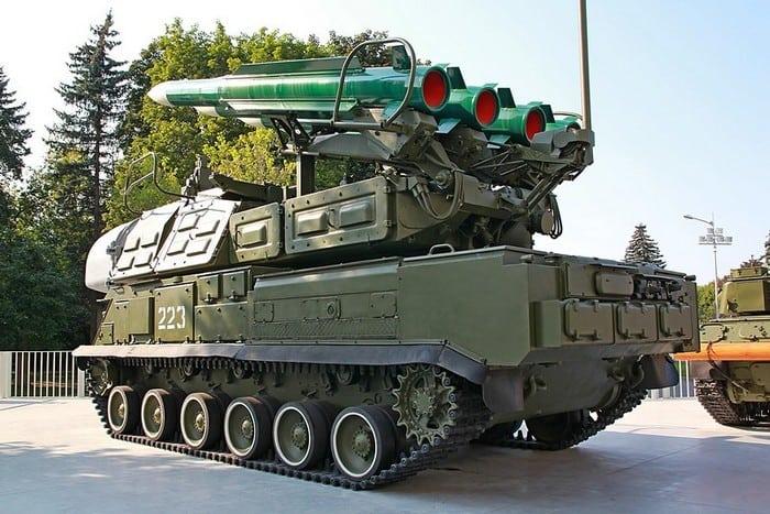 Самоходная огневая установка 9А310