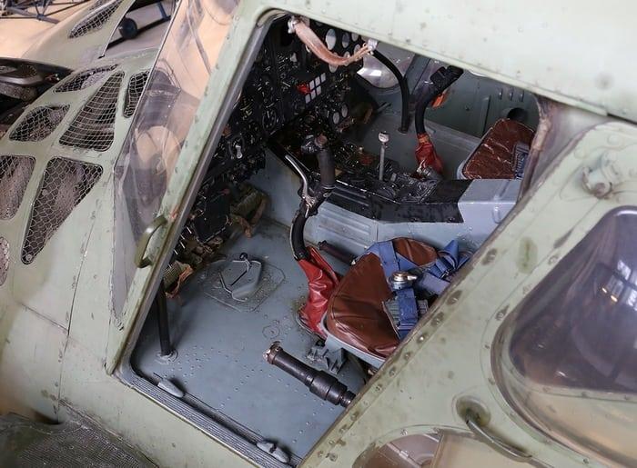 Ми-4 кабина