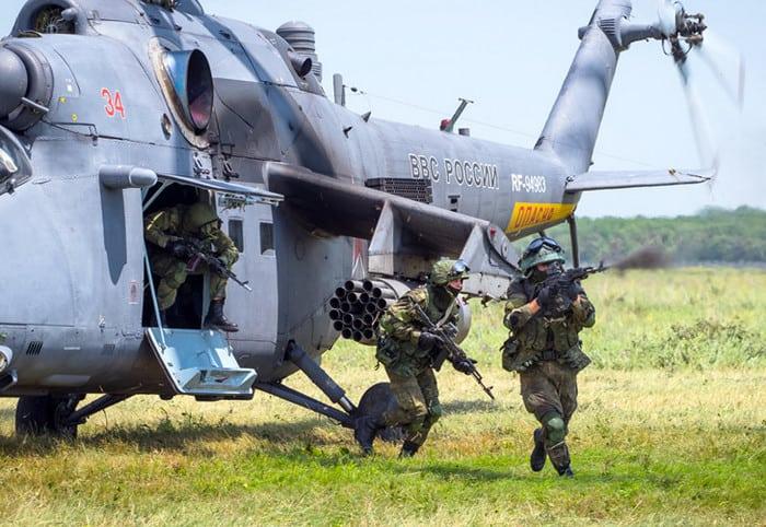 Ми-35 оружие