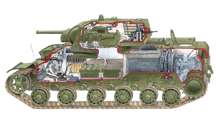 КВ-1 конструкция