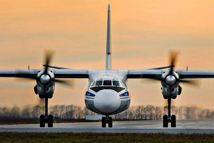 АН-24 самолёт