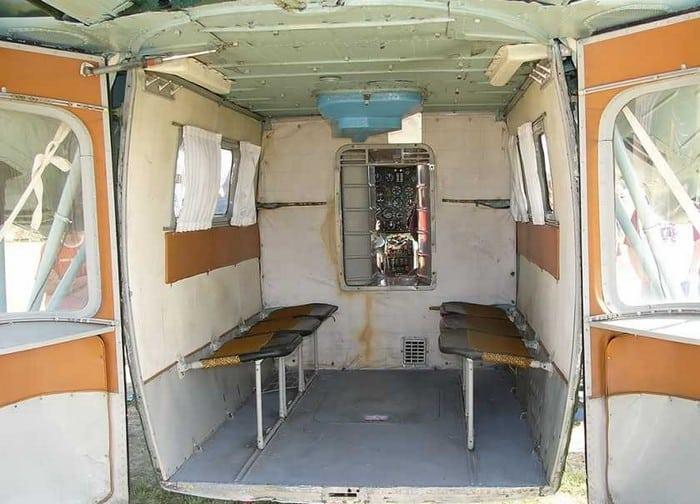 КА-26 кабина