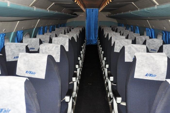 Самолет Ан 24 Салон