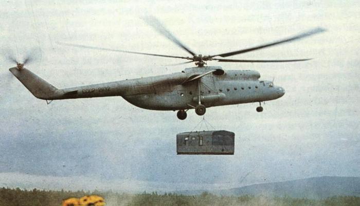 МИ-6 с грузом