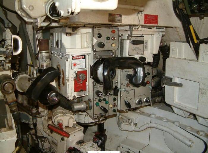 M1A1 Abrams внутри