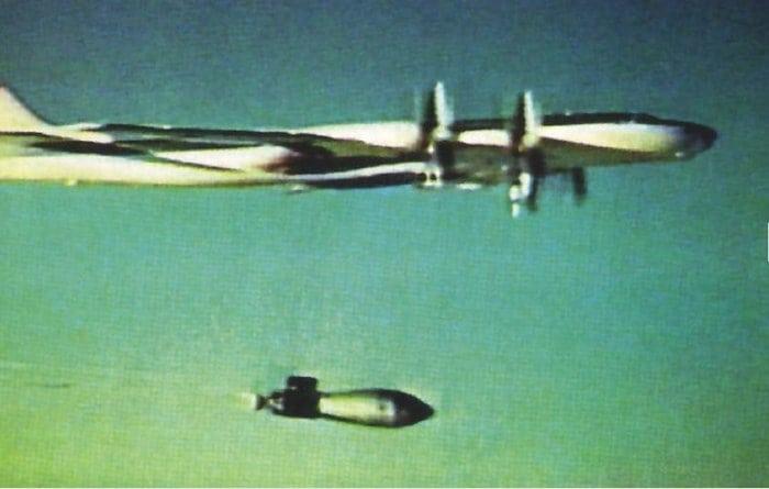 Сброс Царь-бомбы