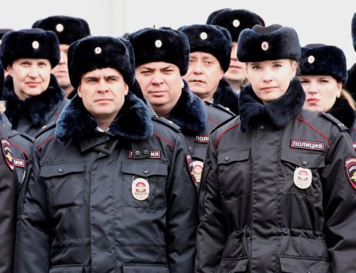 Зимняя Форма Полиции