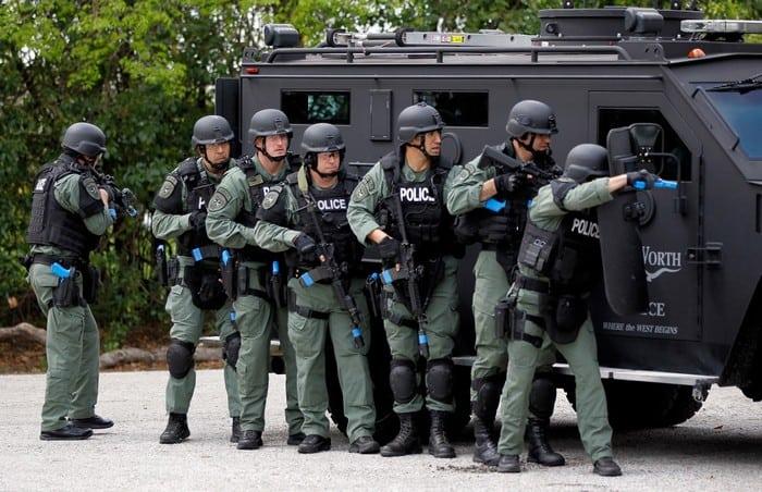 Форма SWAT