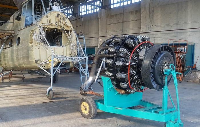 Ми-4 двигатель