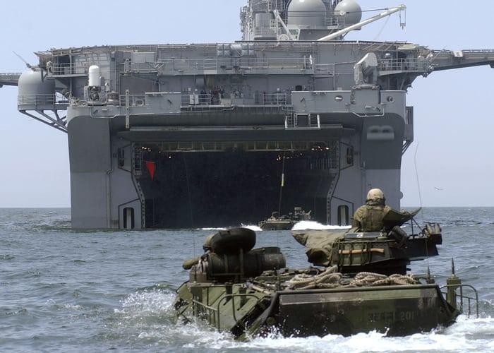 Универсальный Десантный Корабль Wasp