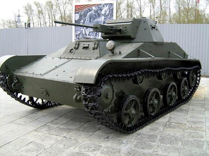 Т-60 лёгкий танк