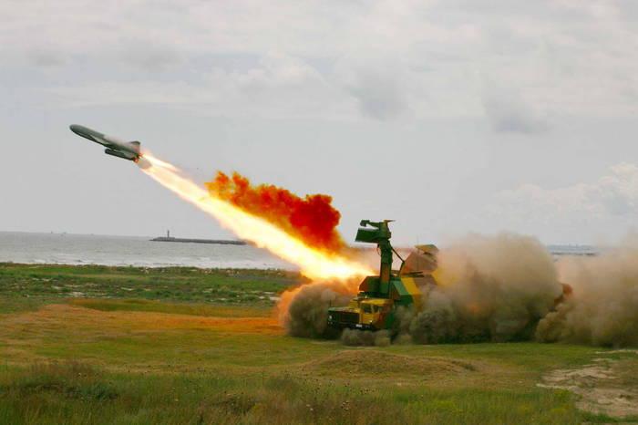 Запуск ракеты Рубеж
