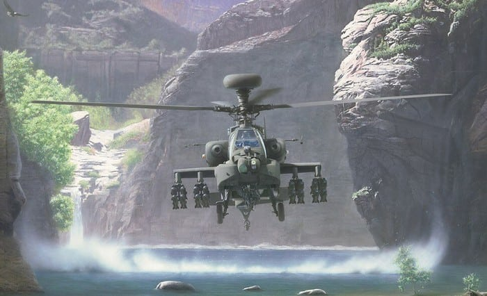 Вертолёт Апач