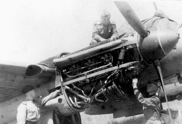 Двигатель ПЕ-2