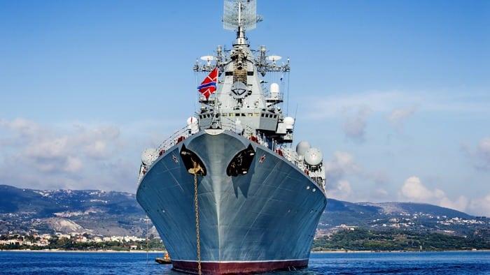 Москва российский крейсер