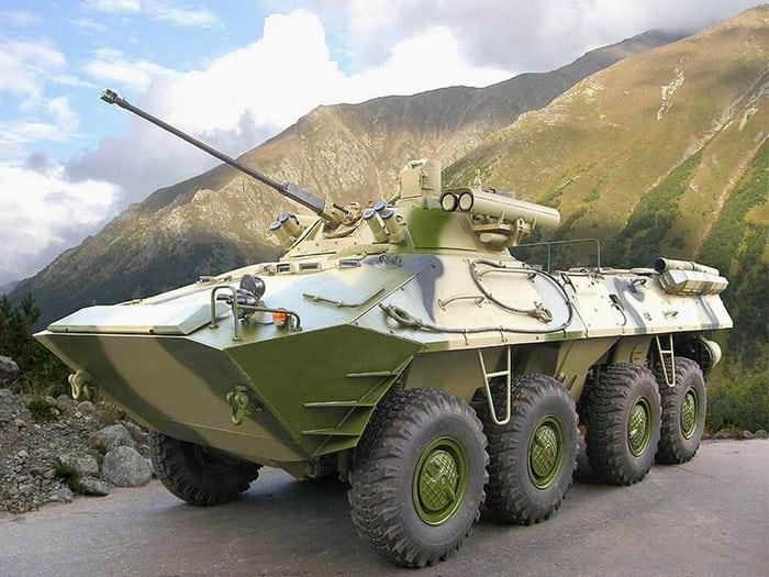 БТР-90 в горах