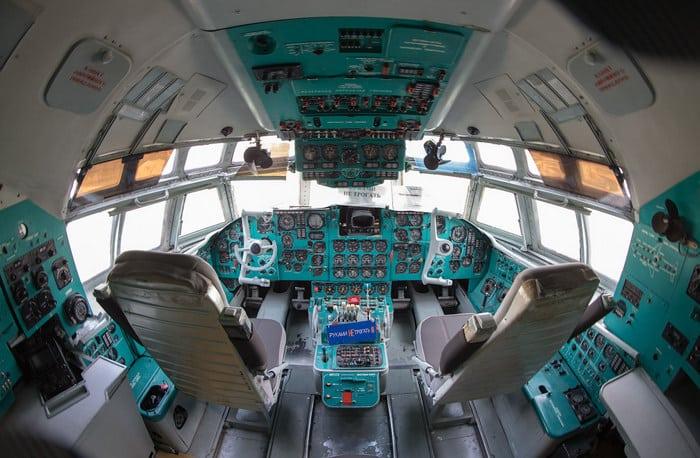 ИЛ-62 кабина