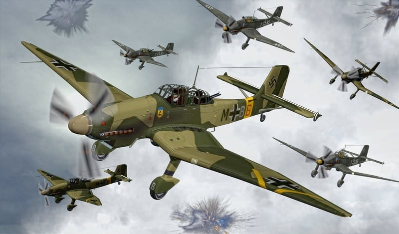 Ju 87 в игре