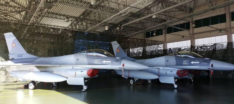 американские самолеты ф-16