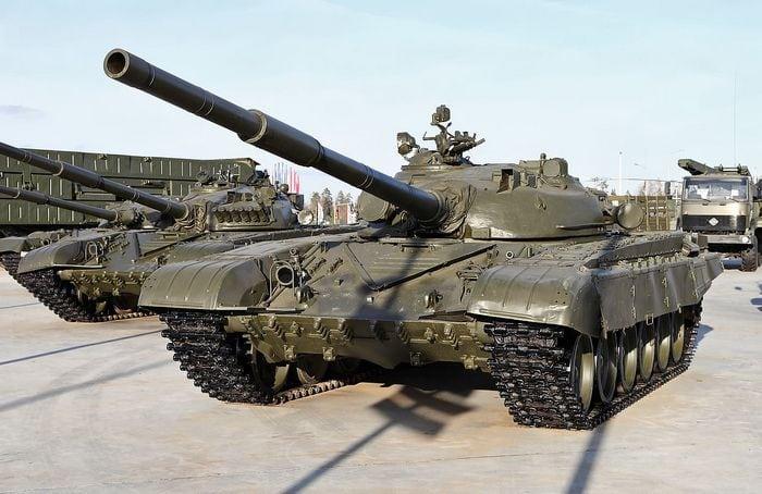 Т-72 в парке «Патриот».