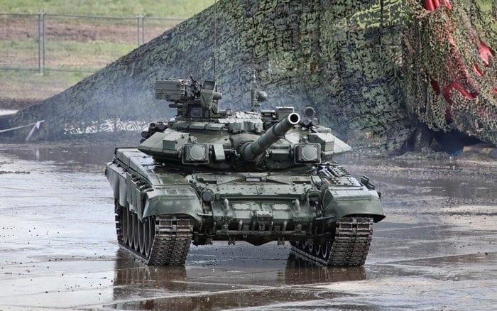Фото танка Т-90
