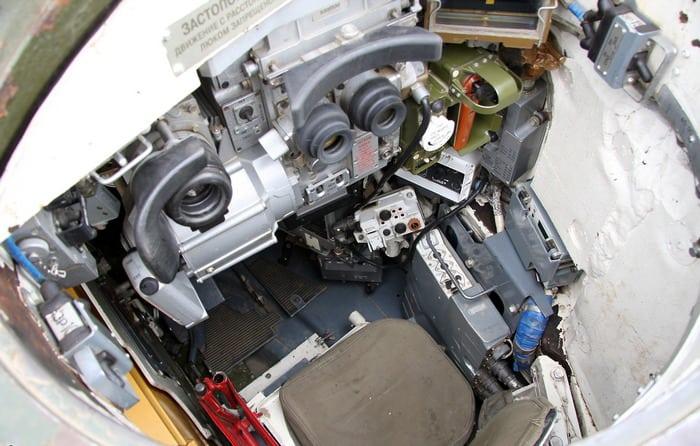 Фото внутри танка т 90