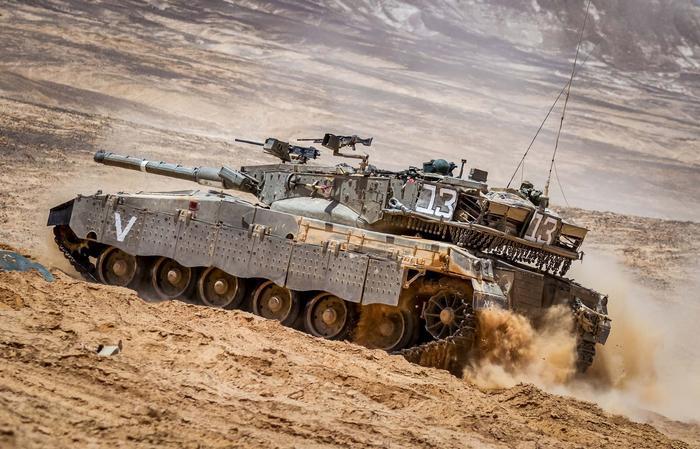 Танк Израиля Меркава
