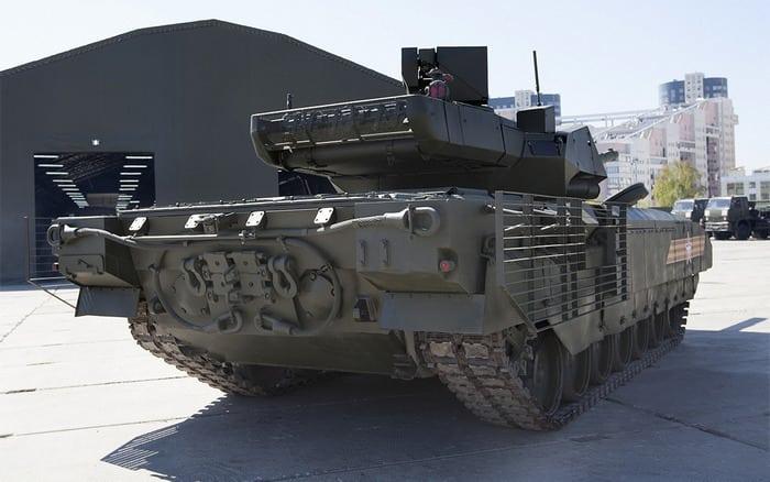 Т-14 сзади