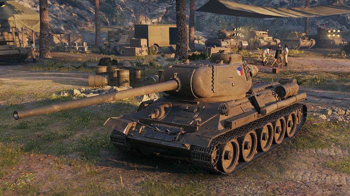 Танк Т-34 100