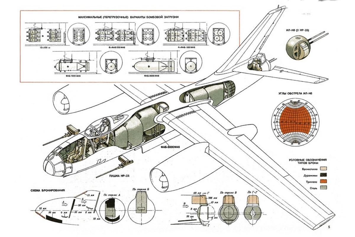 Ил-28 конструкция