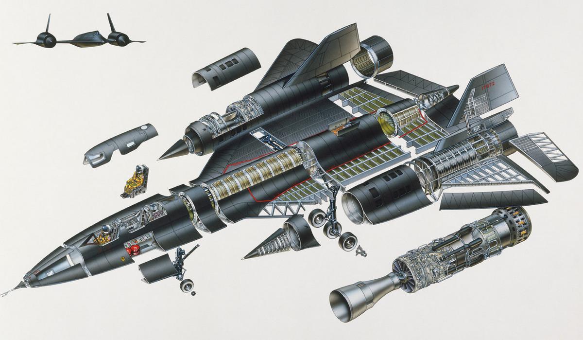 SR-71 конструкция