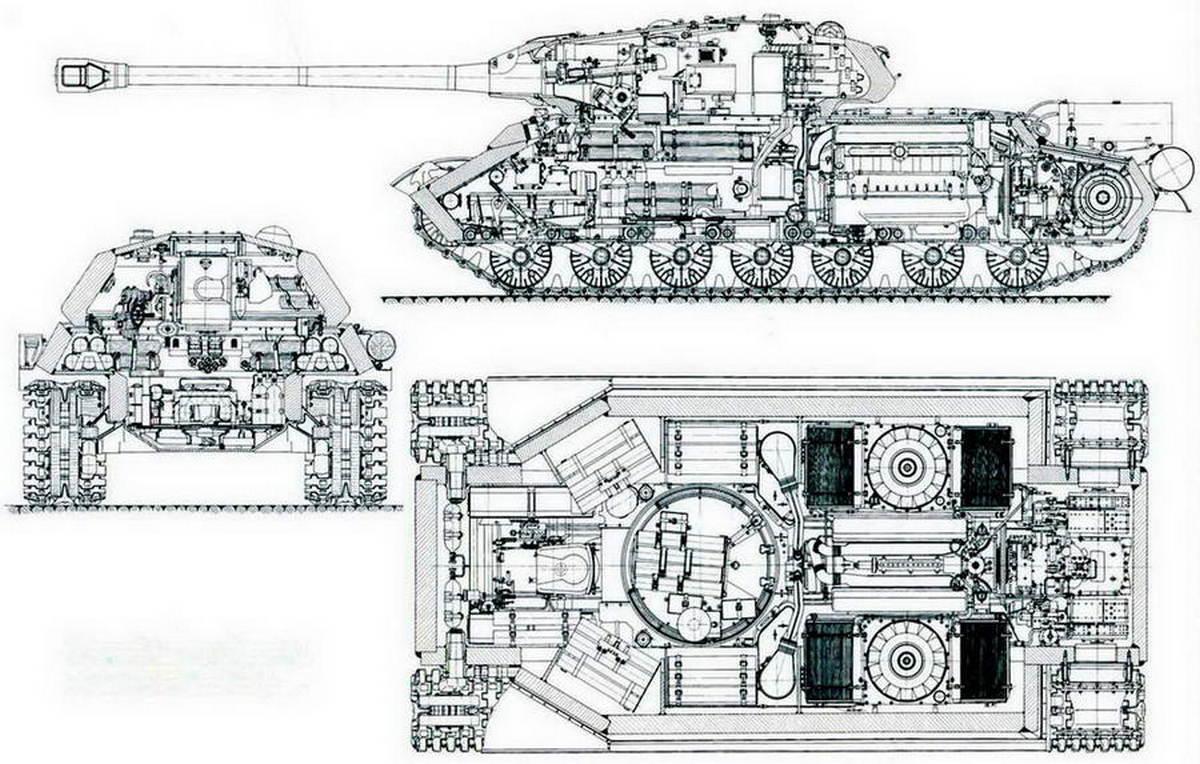 ИС-4 схема