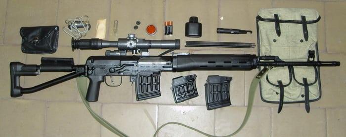 Автоматика винтовки