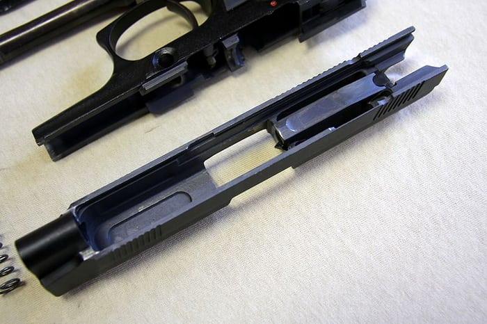 Детали пистолета