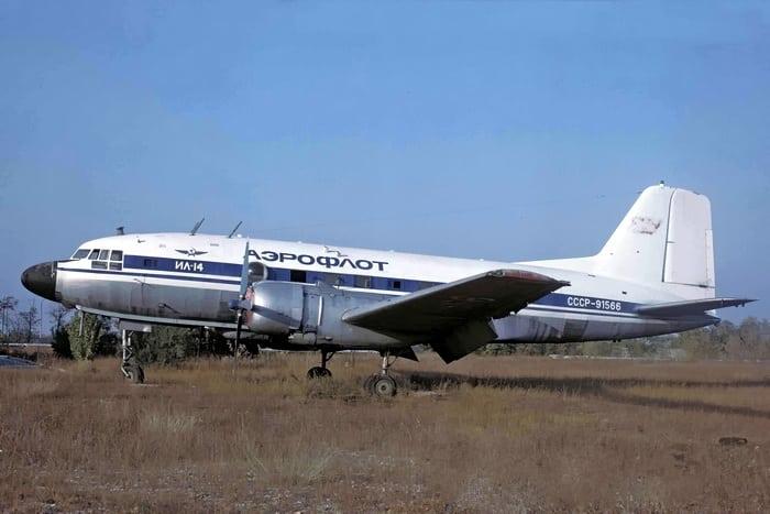 Модификация Ил 14М в ливрее Аэрофлота