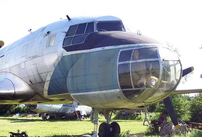 Нос самолета