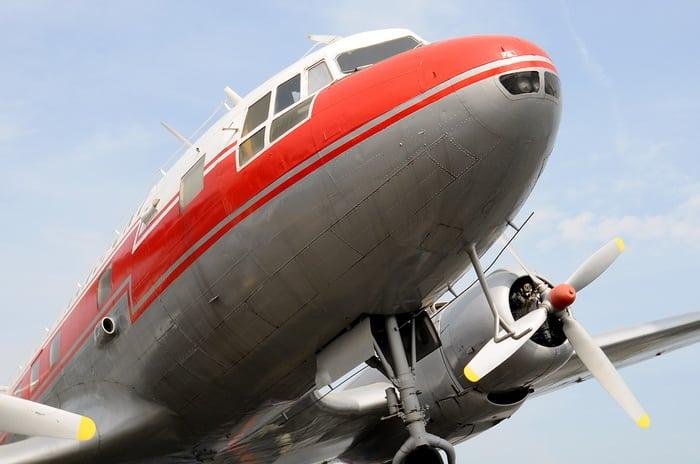Носовая часть самолета