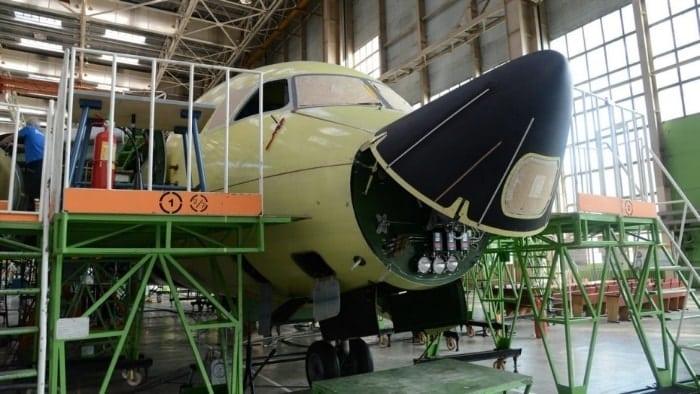 Производство самолетов Илюшина