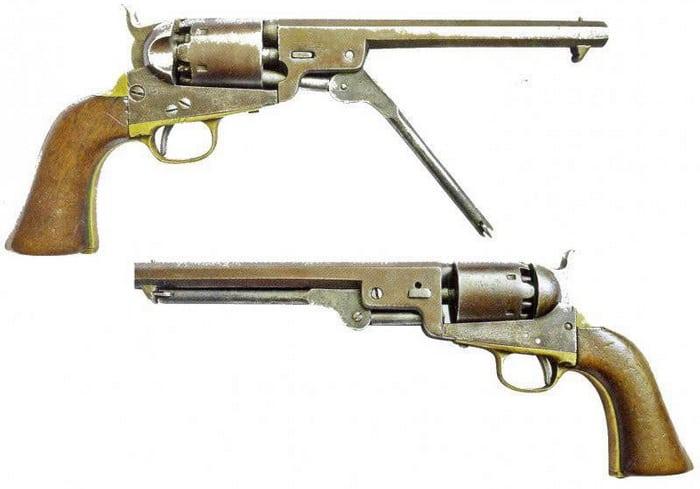Револьвер Кольта №2 Тульского производства