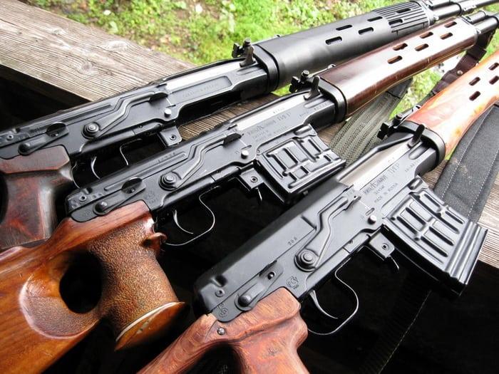 Самозарядные винтовки